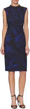 Cynthia Rowley Women's Bonded Sleeveless Sheath Dress
