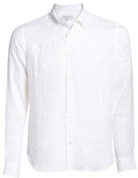 Orlebar Brown Solid Button-Down Shirt