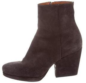 Dries Van Noten Suede Ankle Boots