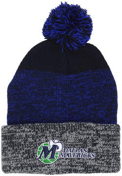 '47 Dallas Mavericks Black Static Pom Knit Hat