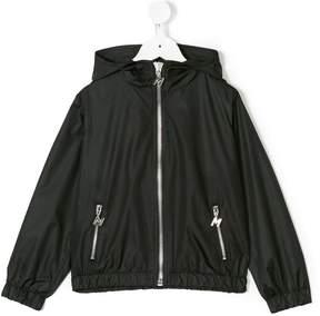 MSGM hooded rain jacket