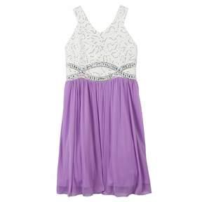 Speechless Girls 7-16 Beaded Lace Dress