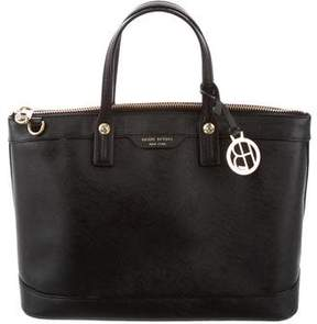 Henri Bendel Structured Leather Tote