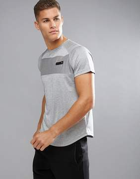 Ellesse Sport T-Shirt With Back Logo In Gray