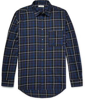 Public School Trin Checked Brushed-Cotton Twill Shirt
