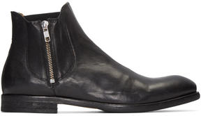 H By Hudson Black Mitchell Boots