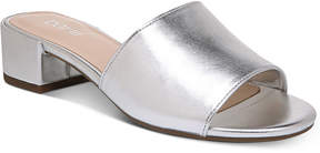 Bar III Jane Block-Heel Slide Sandals, Created for Macy's Women's Shoes