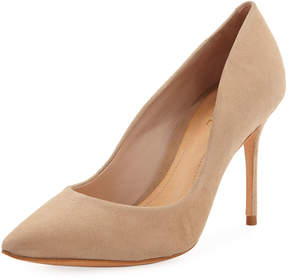 Schutz Rosie Suede Point-Toe Pump