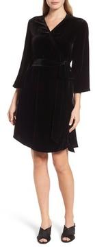 Eileen Fisher Women's Velvet Wrap Dress