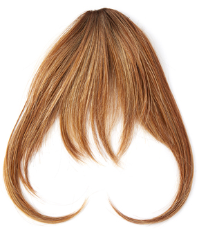 Hairdo. by Jessica Simpson & Ken Paves Rooted Honey Ginger Hair Extension Bangs
