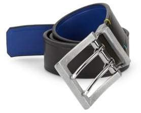 Robert Graham Koa Reversible Faux Leather Belt