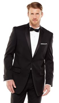 Marc Anthony Men's Modern-Fit Wool Black Tuxedo Jacket - Men