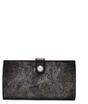 Louise et Cie Maely Metallic Clutch