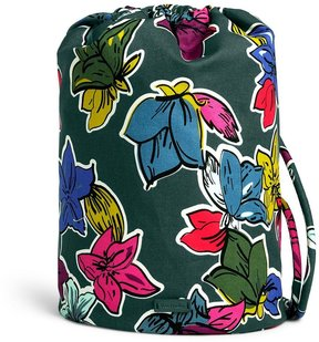 Vera Bradley Iconic Ditty Bag - FALLING FLOWERS - STYLE