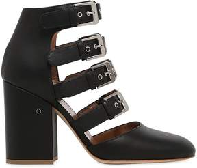Laurence Dacade 90mm Maja Buckles Leather Ankle Boots