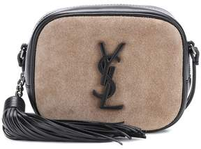 Saint Laurent Classic Monogram shoulder bag - BROWN - STYLE