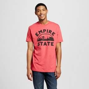 Awake Men's New York Empire State T-Shirt - Red