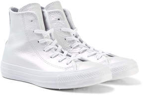 Converse White Chuck Taylor All Star Hi Tops