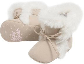 Osh Kosh Baby Girl Faux-Fur Trim Boot Crib Shoes