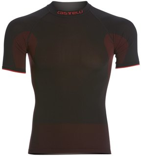 Castelli Men's Iride Seamless Short Sleeve Base Layer 39726