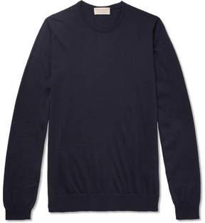 John Smedley Cashmere And Silk-Blend Sweater