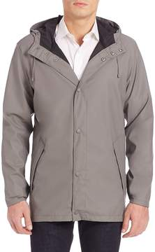 Cole Haan Men's Bonded Softshell Seam Sealed Topper