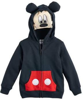 Disney Disney's Mickey Mouse Toddler Boy Mask Zip Hoodie