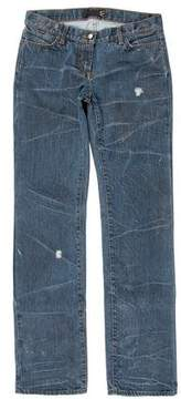 Just Cavalli Distressed Five-Pocket Jeans w/ Tags