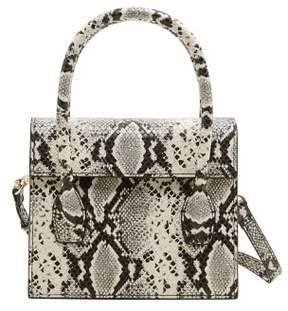 MANGO Snakeskin effect bag