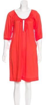 Eres Drawstring Mini Dress