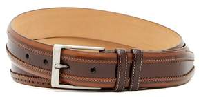 Mezlan Diver Brogued Leather Belt
