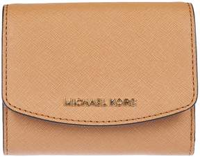 Michael Kors Logo Plaque French Wallet - ACORN - STYLE