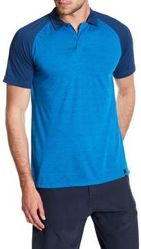 Burnside Spread Collar Raglan Sleeve Polo