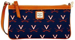 Dooney & Bourke Virginia Cavaliers Large Slim Wristlet - NAVY - STYLE