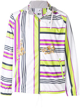 adidas striped sports jacket