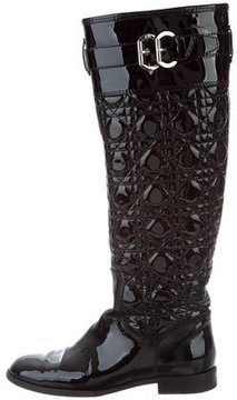 Christian Dior Cannage Knee-High Boots