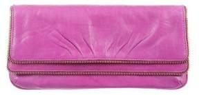 Lauren Merkin Allie Zip-Embellished Clutch