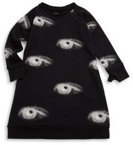 Nununu Little Girl's Eye A Cotton Dress