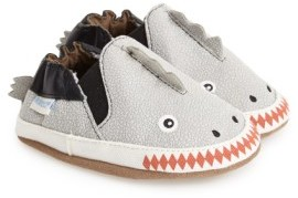 Robeez Infant Boy's 'Dino Dan' Crib Shoe