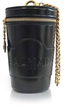 Balmain Black Mini Star Crossbody Bag