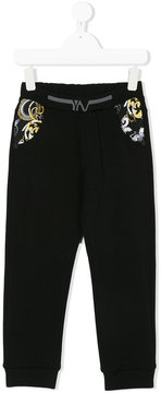 Versace Baroque panel joggers