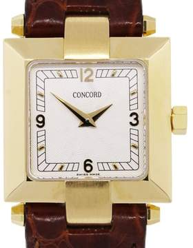 Concord La Scala 50-25-562 14K Yellow Gold Quartz 23mm Womens Watch