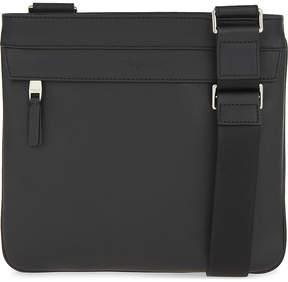 Michael Kors Odin leather messenger bag - BLACK - STYLE