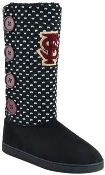 NCAA Women's Florida State Seminoles Button Boots