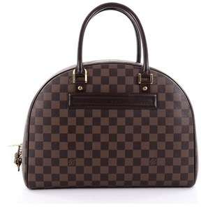 Louis Vuitton Pre-owned: Nolita Satchel Damier. - BROWN - STYLE