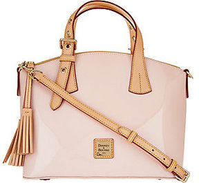Dooney & Bourke As Is Patent Leather Trina Satchel - ONE COLOR - STYLE