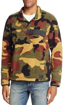 Herschel Camouflage Fleece Pullover