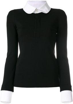 DSQUARED2 pan collar shirt sweater
