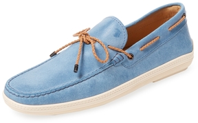 Tod's Men's Leather Boat Shoe