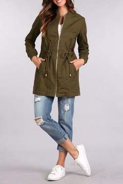 Blu Pepper Bomber Coat